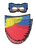 Dreamy Dress-Ups 66230Mask + Wings, Flügel + Maske, Painted Bunting, Vogel Papstfink Passerina ciris