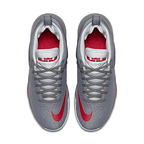 Chaussures De Basket-ball Nike Zoom Testimone Gris