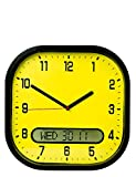 Lifemax High Contrast Day-Date Wall Clock
