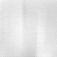 Craftine Simili cuir d'ameublement uni Blanc - Par 50 cm