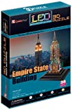 CubicFun Puzzle 3D mit Led - Empire State Building