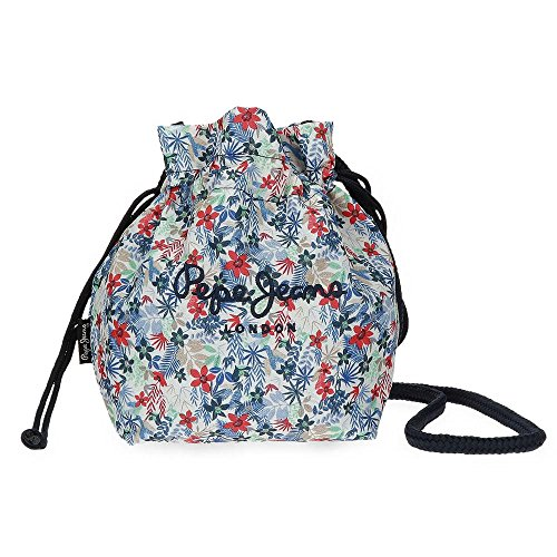 Pepe Jeans Bella Sac bandoulière, 24 cm, 4.49 liters, Multicolore (Multicolor)