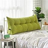 Polstermöbel Dreieckiger keil kissen, -sofa-bett kissen Sitzkissen Bettruhe Lesen kopfkissen Rückenlehne positionierung support pillow,Lumbale pad für büro-bett-sofa-Grün 20x50x80cm(8x20x31)