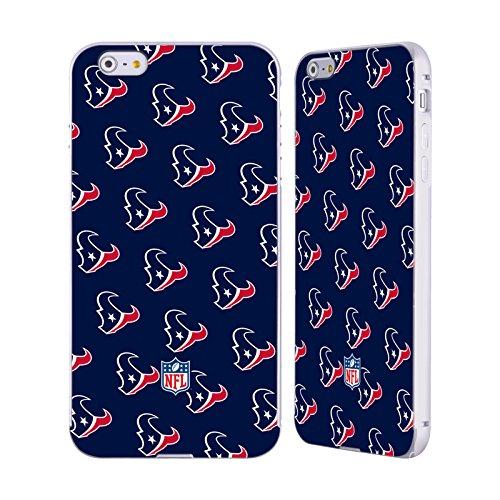 Ufficiale NFL Righe 2017/18 Houston Texans Argento Cover Contorno con Bumper in Alluminio per Apple iPhone 5 / 5s / SE Pattern
