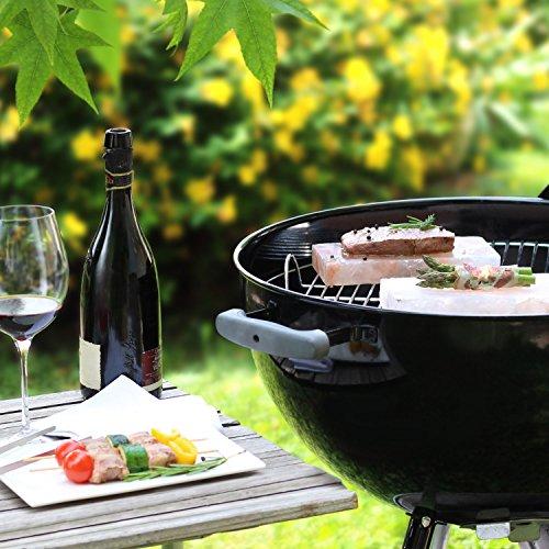 51J8qSVJu7L - Amazy BBQ Salzstein zum Grillen (3 Stück) - Hochwertige Salzplanke für die Zubereitung von Fleisch und Fisch mit leckerer Salzkruste auf dem Grill oder im Backofen