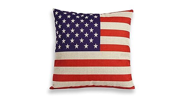 Kissen Deko Kopfkissen  USA oder England Flagge 30 x 50 cm