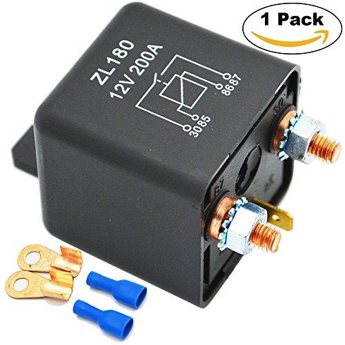 s Auto-LKW-Motor Automobil-Boots-Auto Starter Heavy Duty Split Lade ZL180 mit 2 Pin-Abdruck + 2 Terminal - [1 Satz] (Lkw Oder Zu Behandeln)