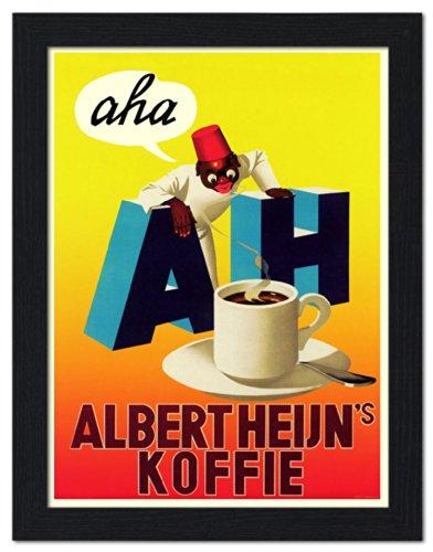 albert-heijn-coffee-framed-print-32x42cm-black