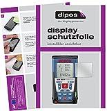 dipos I 3X Schutzfolie klar passend für Bosch Professional GLM 250 VF Folie Displayschutzfolie