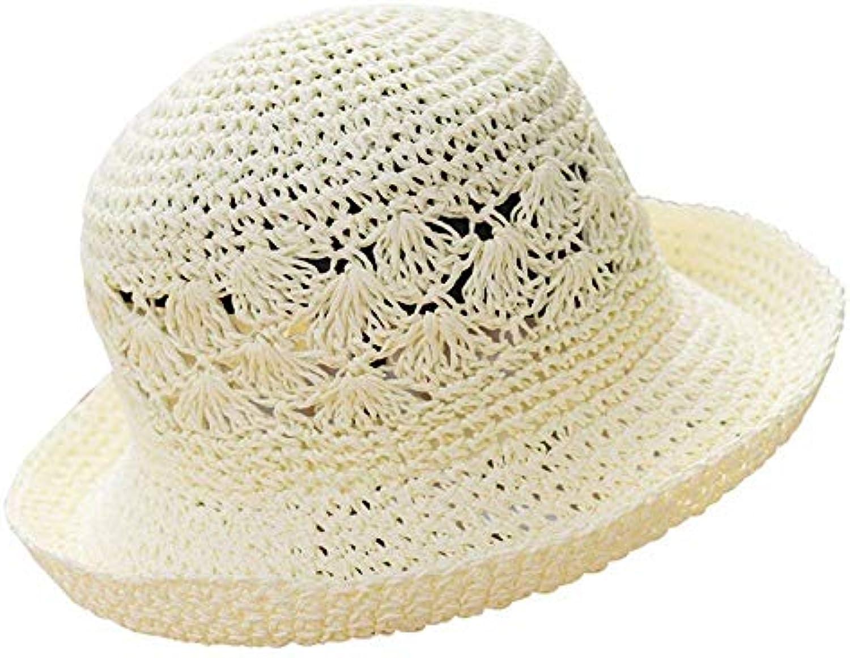 Oudan Cappello da Spiaggia Donna Estivo da Donna Spiaggia Cappello da  Spiaggia Cappello da Sole Pieghevole da Viaggio (Coloreee... Parent 70fd74 fd66fdb45c7e