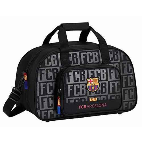 SAFTA Bolsa deporte F. C. Barcelona Black 40cm