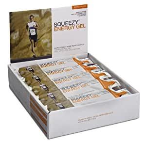 Squeezy Sports Nutrition Energy Gel Big Box gemischte Geschmäcker, 30 Einzelbeutel á 25 g, 1er Pack (1 x 750 g)