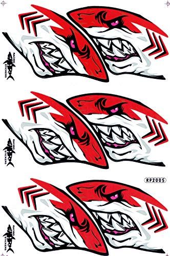 by soljo Dragon Or Sticker Tuning Racing Motocross Autocollant Feuille 27 x 18 cm