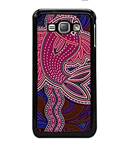 printtech Ethnic Ganesha Pattern Back Case Cover for Samsung Galaxy J1 (2016) :: Samsung Galaxy J1 (2016) Duos with dual-SIM card slots :: Galaxy Express 3 J120A (AT&T); J120H, J120M, J120M, J120T