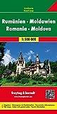 Freytag Berndt Autokarten, Rumänien - Moldawien - Maßstab 1:500.000