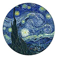 Van Gogh - Starry Night - Domed Glass Paperweight