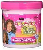 African Pride Dream Kids Olive Miracle - Balsamo per capelli, senza risciacquo, 425g
