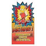 Hallmark Geburtstagskarte für die Simpsons Bart–Medium