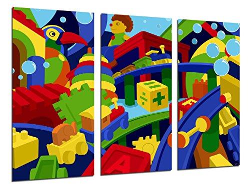 Cuadro Moderno Fotografico Tema Infantil, Niños, Bebes, 97 x 62 cm ref. 26398