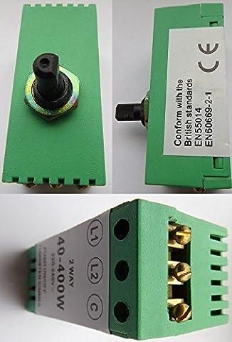 60~400 watt Replacement dimmer switch module 1 or 2 way