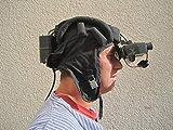 NVA Infrarot Nachtsichtgerät Panzerhaube Nightvision Helm Jagd-Beobachtung