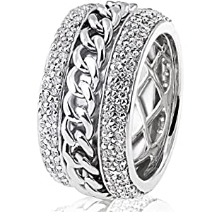 Goldmaid Damen-Ring 925 Sterlingsilber 272 Zirkonia
