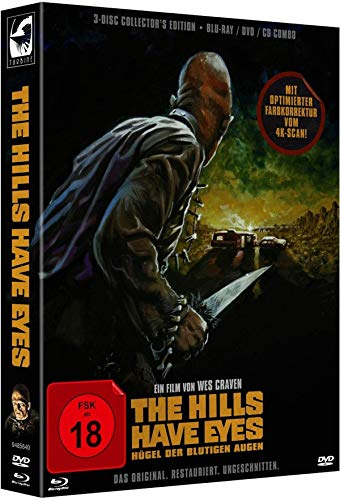 The Hills Have Eyes - Hügel der blutigen Augen - Limited Collector's Edition  (+ DVD) (+ CD) [Blu-ray]