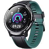CrossBeats Ace Metal Smart Watch Full Touch Men Women Fitness Tracker Blood Pressure Blood Oxygen Heart Rate Monitor Waterpro