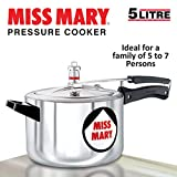 Best Cookware Materials - Hawkins Miss Mary Aluminium Pressure Cooker, 5 litres Review