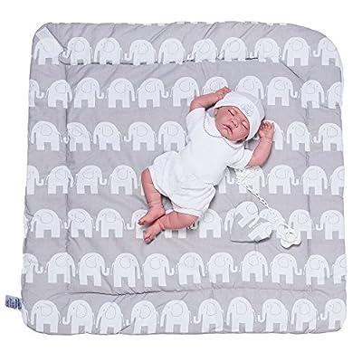 Sevira Kids-Saco de dormir, diseño de nido de ángel nacimiento Minky, reversible, diferentes colores