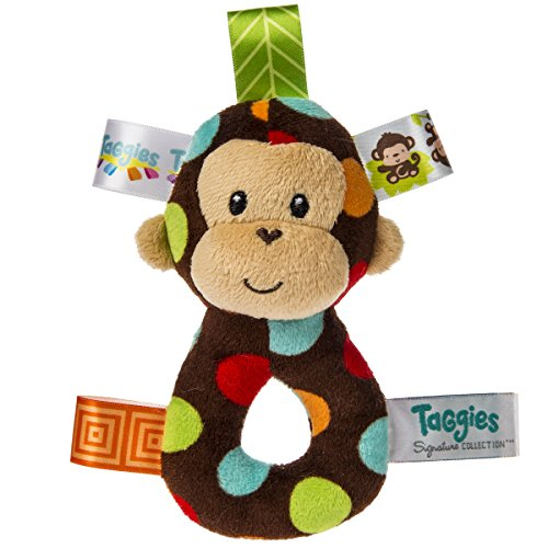 (Mary Meyer 39712 Taggies Dazzle Dots Affe Rassel)