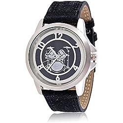 Armbanduhr mit Schlagzeug - Schönes Geschenk für Musiker