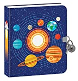Playhouse Outer Space Glow in the Dark Lock and Key Lined Page Diary