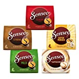 Senseo Kaffee Pads Vielfaltspaket, 5er Pack, Kaffeepads für Padmaschinen