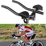 FRFJY Manubrio Aero Bar Triathlon Cronometro Tri Cycling per Manubrio Bici, Mountain Bike o Bici da Strada in Lega di Alluminio