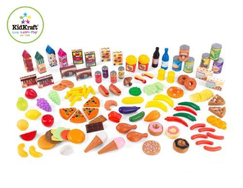 Imagen 1 de Kidkraft 63187 - Comida de juguete, 125 piezas