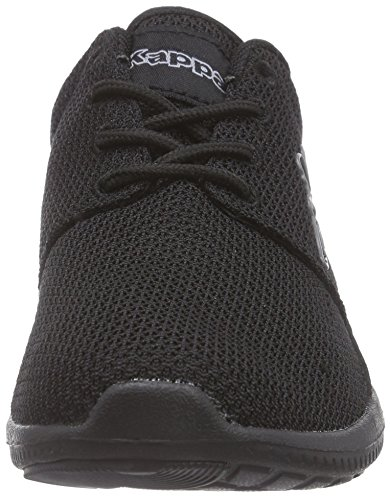 Kappa Speed II OC Footwear Unisex, Baskets Basses Mixte Adulte Noir (1116 Black/grey)