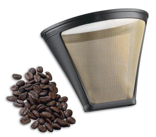 Cuisinart gtf-4Gold Tone Filter für Cuisinart 4-Cup Kaffeemaschinen, Gold/Schwarz