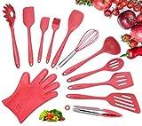 Set di utensili, Set da 12 pezzi in silicone completo per cottura e utensili da cucina