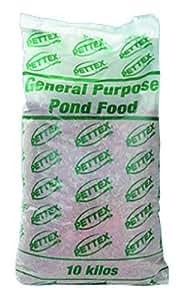 Pettex nourriture pour poissons de bassin 10 kg for Nourriture pour poisson de bassin