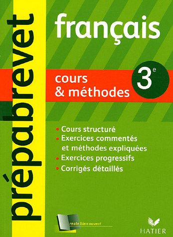 Français 3e : Cours & méthodes