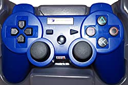 Digital Gaming World's PS3 Wireless Controller For Sony PS3 Console( Blue Color Limited Edition), Compatible/Generic.