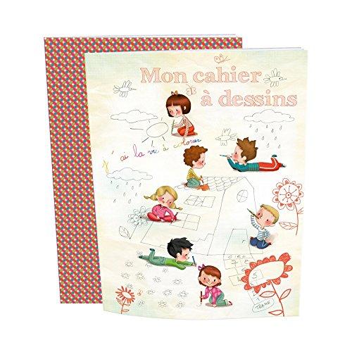 Preisvergleich Produktbild Avenue Mandarine–Mein Notizbuch, Zeichnungen–21x 19.7cm–32weiße Seiten