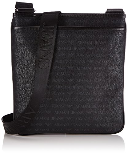 4f9c6f2192 Armani Jeans Shoes & Bags De 06292j4, Men's Cross-Body Bag, Black (