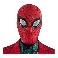 HONGTEYA Spiderman Mask Toys for Kids Adults Cosplay Superhero Spiderman Stealth Suit Masks Helmet Peter Parker Halloween Costume Props (Red Spiderman Mask)