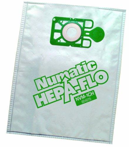 Numatic NVM-1CH Filterbeutel Numatic Henry von Staubbeutel–1Box (10Stück) (10Stück)