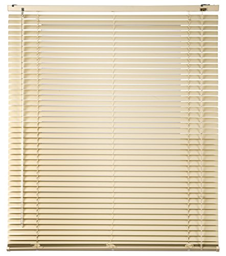 Estores Basic Persiana Veneciana Aluminio, Beige, 75x175 cm