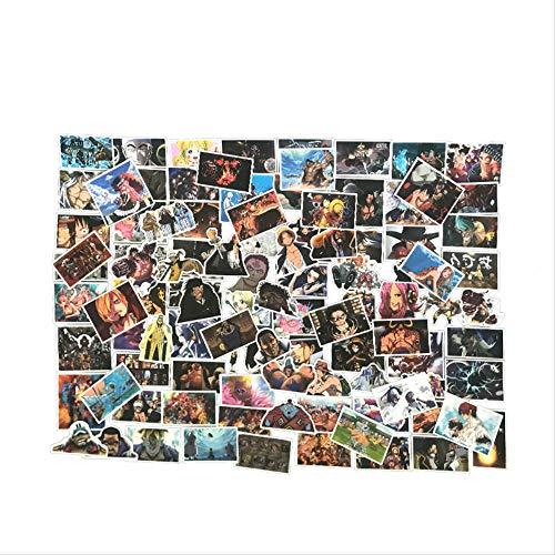 WH MaiYY 100 One Piece Graffiti Sticker Personalidad