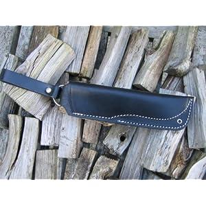 51J97uTDvQL. SS300  - SALE! Leather Bushcraft 'Dangler' style sheath for 'woodlore' style knives or Moras