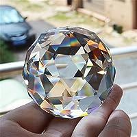 Cristal de Cuarzo Cristal Facetado Bola Natural Piedras y Minerales Feng Shui Cristales Bolas Miniatura Estatuilla Kristal Products 6CM